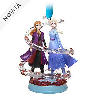 Decorazione a sospensione Anna ed Elsa Frozen 2: Il Segreto di Arendelle Disney Store