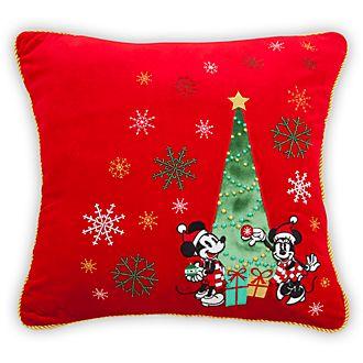Cuscino Topolino e Minni Holiday Cheer Disney Store