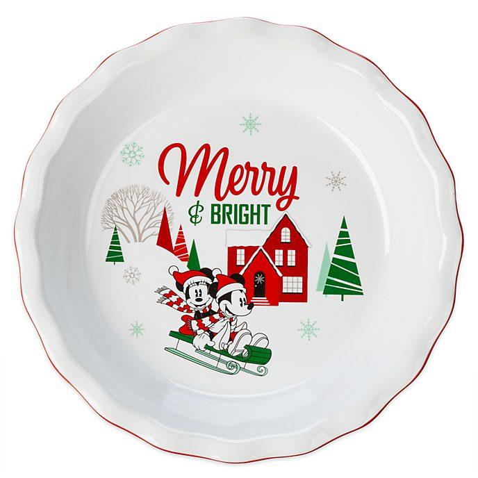 Molde para tartas Mickey y Minnie, Holiday Cheer, Disney Store