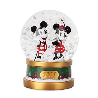 Bola de nieve Mickey y Minnie, Holiday Cheer, Disney Store