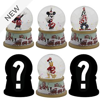 Disney Store Mickey and Friends Holiday Cheer Mystery Snow Globe