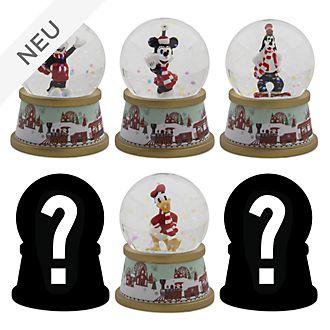 Disney Store - Holiday Cheer - Micky und seine Freunde - Schneekugel in Überraschungsbox