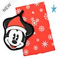 Disney Store Mickey Mouse Holiday Cheer Pot Holder and Towel Set
