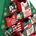 Calendario adviento Mickey y sus amigos, Holiday Cheer, Disney Store