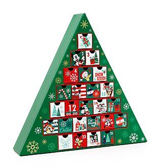 Calendario adviento Mickey y sus amigos, Holiday Cheer, Disney Store