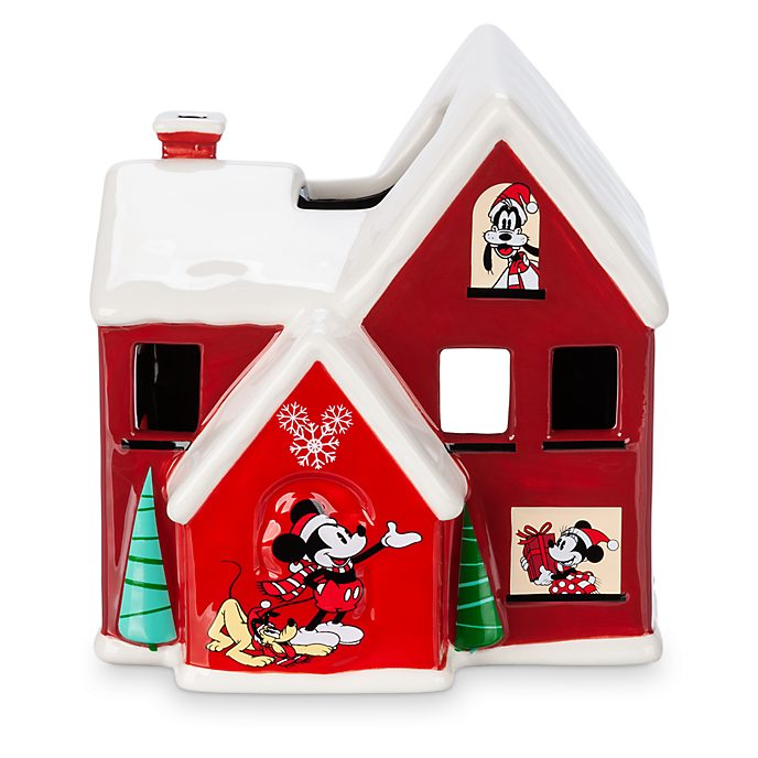 Disney Store Bougeoir Mickey et ses amis, collection Holiday Cheer