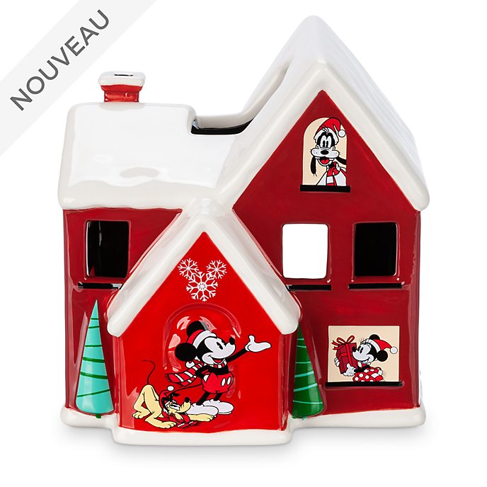 Disney Store Bougeoir Mickey et ses amis, collection HolidayCheer