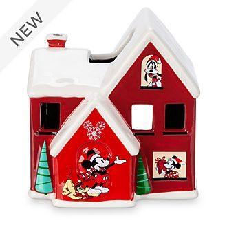 Disney Store Mickey and Friends Holiday Cheer Candle Holder