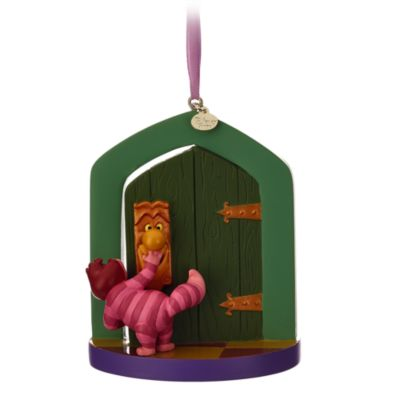 Alice in wonderland christmas decoration for Alice in wonderland door knob disney decoration