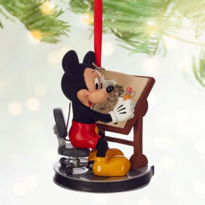 Mickey Mouse Artist Christmas Decoration