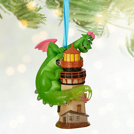 Decoración navideña Pedro y el dragón Elliot