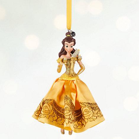 Belle - Belle im Ballkleid Weihnachtsdekoration