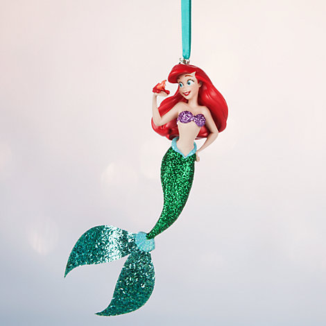 Ariel christmas decoration the little mermaid for Ariel decoration