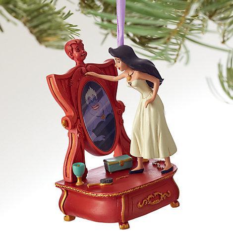Décoration de Noël Ursula en Vanessa, La Petite Sirène