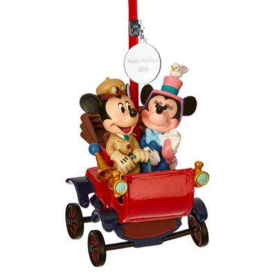 Decoración navideña Minnie y Mickey Mouse