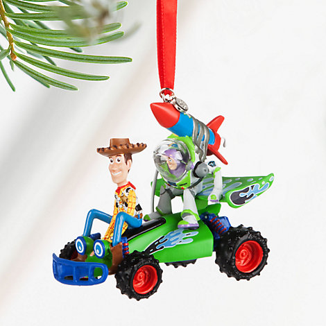 Woody and Buzz Christmas Decoration