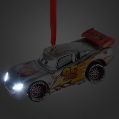 Lightning McQueen Light-Up Christmas Decoration, Disney Pixar Cars