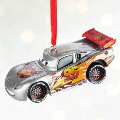 Blixten McQueen upplyst juldekoration