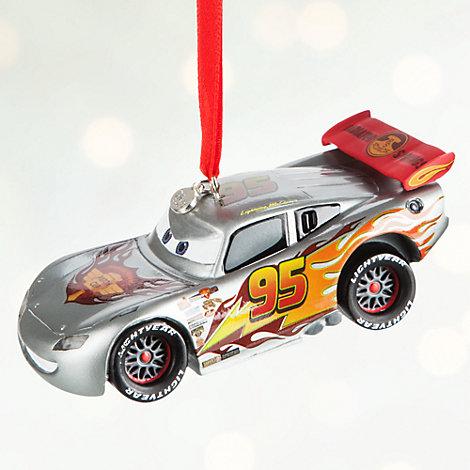 Lightning McQueen Light-Up Christmas Decoration, Disney Pixar Cars
