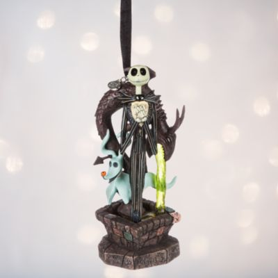 Decoración navideña Jack Skellington con luces