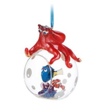 Palla di vetro natalizia aperta Alla Ricerca di Dory