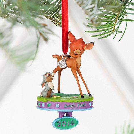 Bambi juldekoration