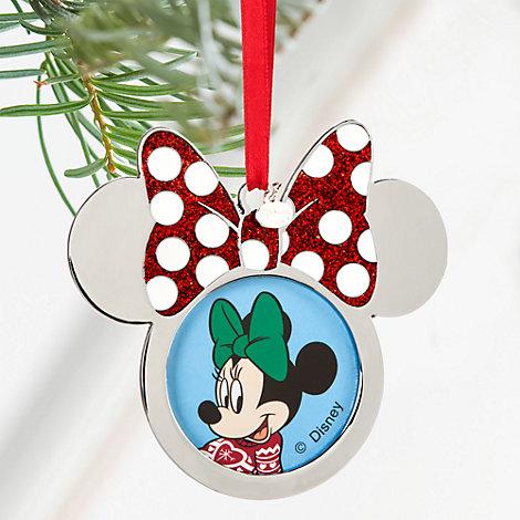 Minnie Mouse julepynt med plads til foto
