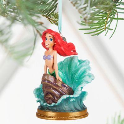 Decoración navideña musical Ariel, La Sirenita