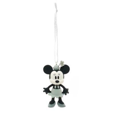Decoraciones navideñas Minnie y Mickey Mouse El botero Willie, set de 4