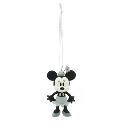 Decorazioni natalizie Topolino e Minni da Steamboat Willie, set di 4