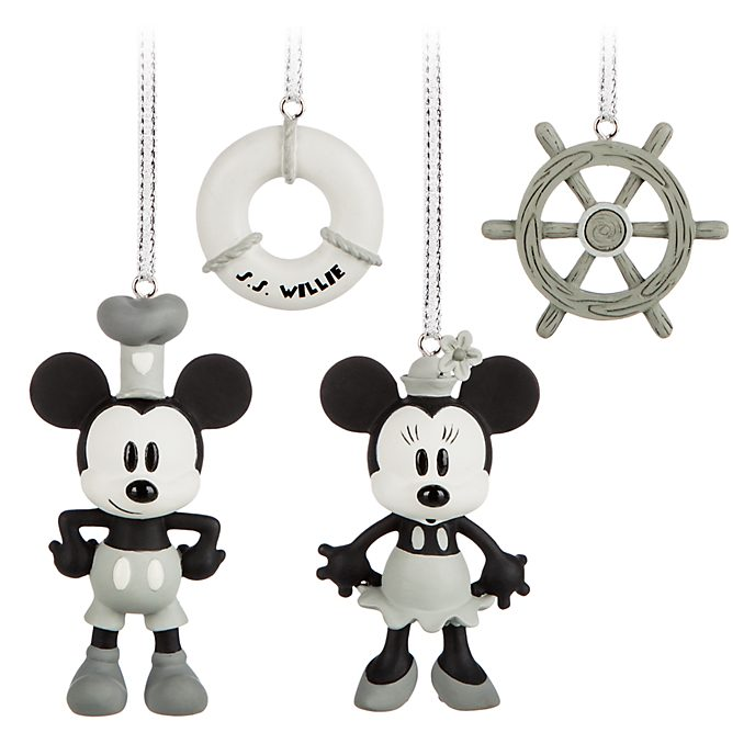 Mickey And Minnie Mouse Steamboat Willie Christmas