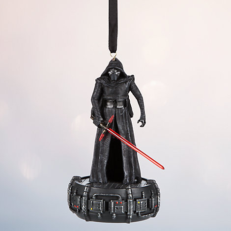 Kylo Ren Light-Up Christmas Decoration, Star Wars: The Force Awakens