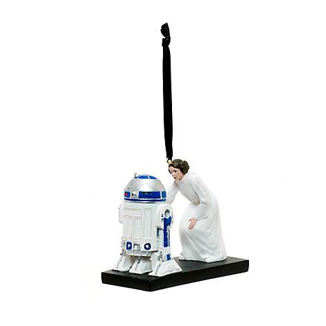 Prinsesse Leia og R2-D2 julepynt