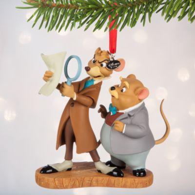 Décoration de Noël Basil, détective privé