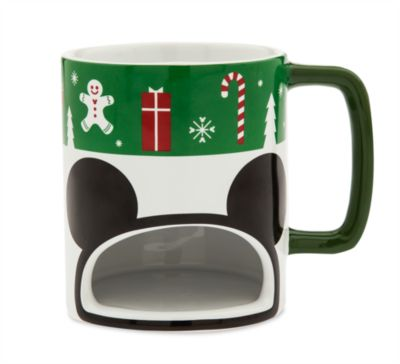 Mickey Mouse Christmas Cookie Holder Mug