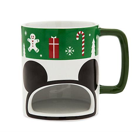 Mickey Mouse Christmas Cookie Holder Mug