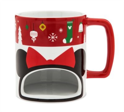 Minnie Mouse Christmas Cookie Holder Mug