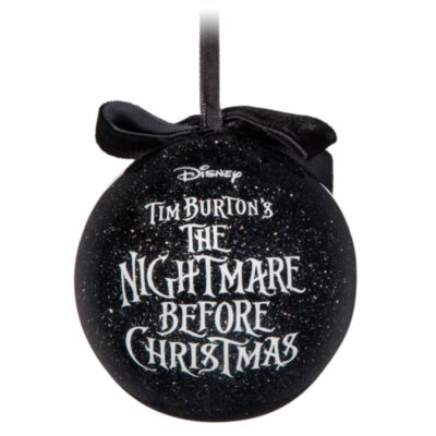 The Nightmare Before Christmas Baubles, Set Of 6