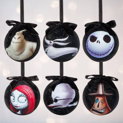 Nightmare Before Christmas - Weihnachtskugeln, 6er-Set