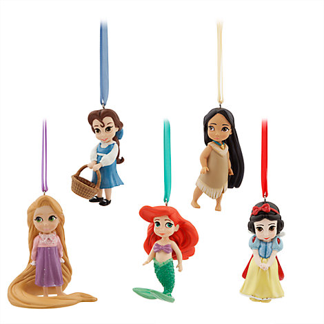 Disney Animator's Collection Figurines, Set Of 5