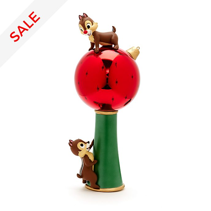 Chip N Dale Light Up Christmas Tree Topper