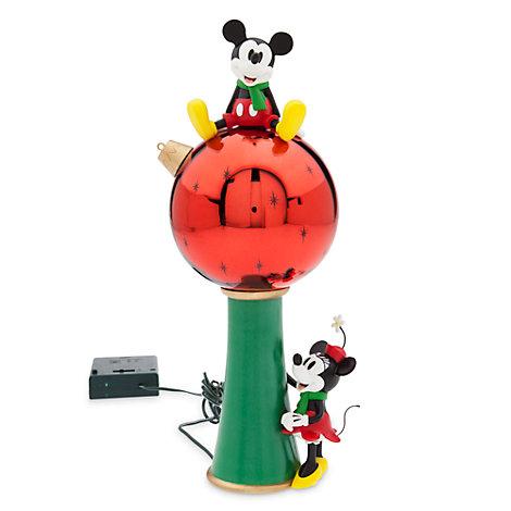 Puntale albero di Natale con luci Topolino e Minni