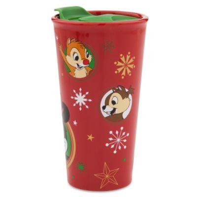 Mickey and Minnie Share the Magic Travel Mug