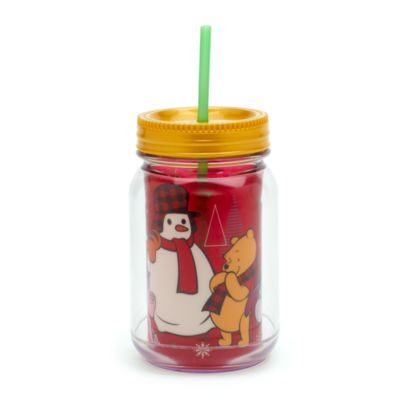 Winnie Puuh - Share the Magic - Becher mit Strohhalm