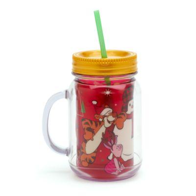 Bicchiere con cannuccia Regala la Magia, Winnie the Pooh