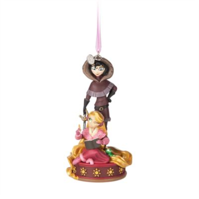 Rapunzel and Cassandra Hanging Ornament, Tangled: The Series