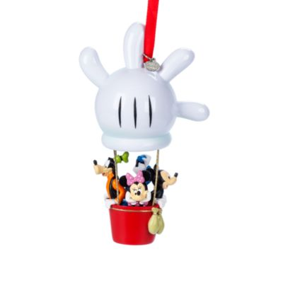 Mickey Mouse and Friends Hot Air Balloon Hanging Ornament