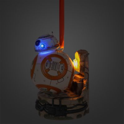 Decoración navideña luminosa BB-8, Star Wars