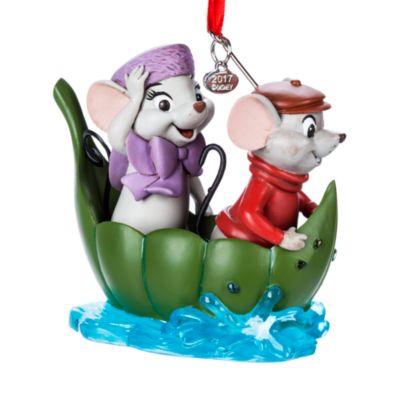 Bernard og Bianca julepynt til ophæng