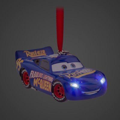 Ornament da appendere luminoso Saetta McQueen